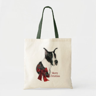 Great Dane Mantle Christmas Gifts Tote Bag