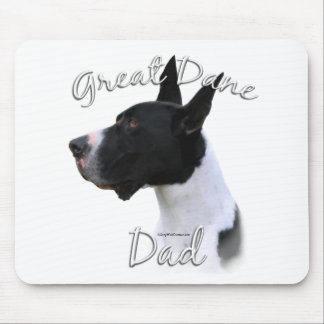 Great Dane (mantle) Dad 2 Mouse Pad