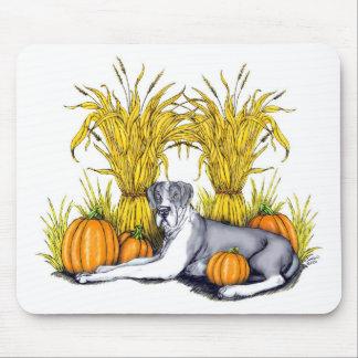 Great Dane Mantle Harvest UC Mousepads