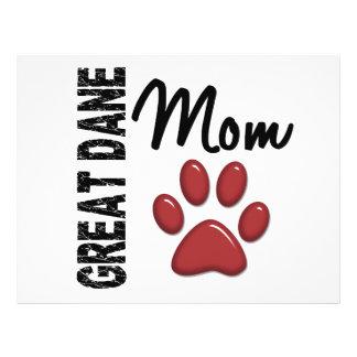 Great Dane Mom 2 Flyer Design