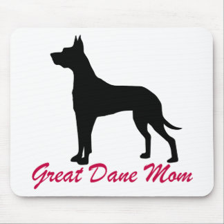 Great Dane Mom 2 Mouse Pad