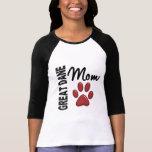Great Dane Mom 2 T-shirt