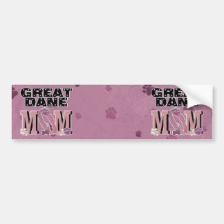 Great Dane MOM Bumper Stickers