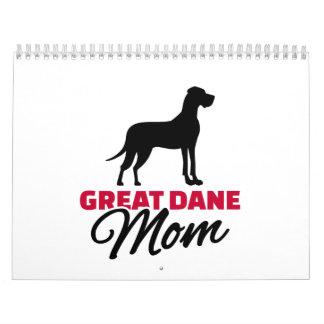 Great Dane Mom Calendar