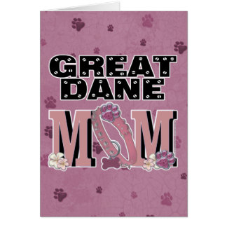 Great Dane MOM Card