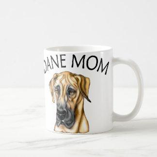 Great Dane Mom Fawn UC Coffee Mug