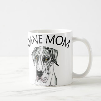 Great Dane Mom Harlequin UC Coffee Mug