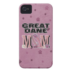 Case-Mate iPhone 4 Barely There Universal Case with Great Dane Phone Cases design
