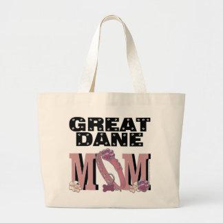 Great Dane MOM Large Tote Bag