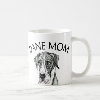 Great Dane Mom Mantle UC Classic White Coffee Mug