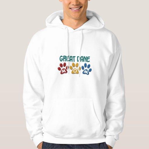 GREAT DANE Mom Paw Print 1 Sweatshirt
