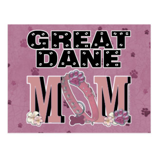 Great Dane MOM Postcard