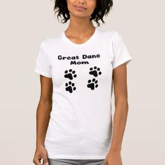 Great Dane Mom Tee Shirt