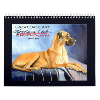 Great Dane Natural Ears Calendar