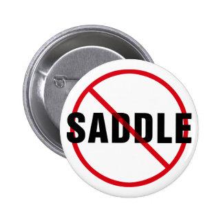 Great Dane No Saddle Pinback Button