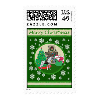 Great Dane Old Fashioned Christmas Postage