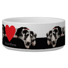 Great Dane Pet Bowl