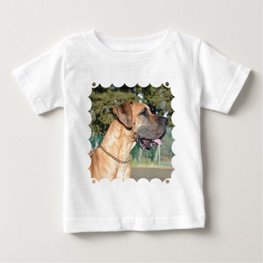 Great Dane Photo Baby T-Shirt