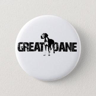 Great Dane Pinback Button