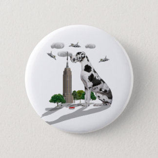 Great Dane Pinback Button