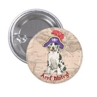 Great Dane Pirate Button