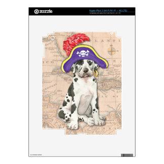 Great Dane Pirate iPad 3 Skin