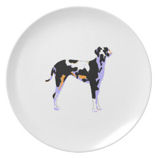 Great Dane Pop Art Dinner Plate