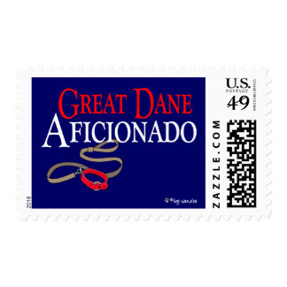 Great Dane Postage Stamp
