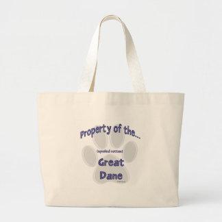 Great Dane Property Tote Bag