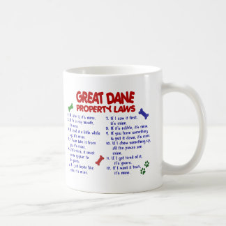 GREAT DANE Property Laws 2 Classic White Coffee Mug