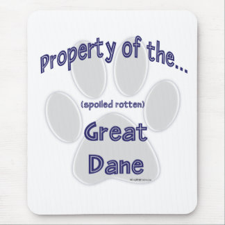 Great Dane Property Mouse Pad