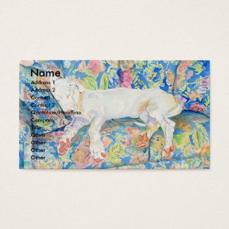 Great Dane Pup Zoe 2 Business Cards