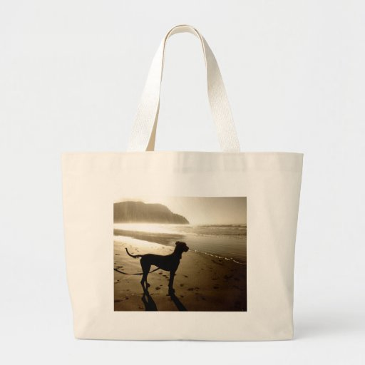 Great Dane Puppy Sunset Bags