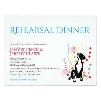 Great Dane Rehearsal Card