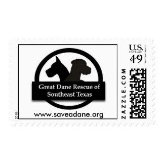 Great Dane Rescue Southeast Texas Postage