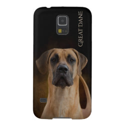 Case-Mate Barely There Samsung Galaxy S5 Case with Great Dane Phone Cases design