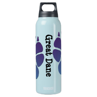 Great Dane 16 Oz Insulated SIGG Thermos Water Bottle