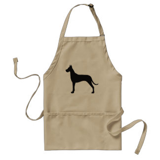 Great Dane Silhouette Adult Apron