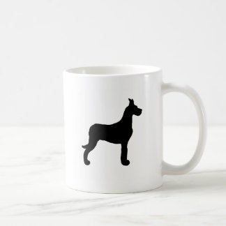 Great Dane silhouette Coffee Mug