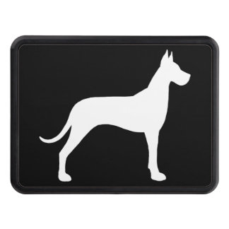 Great Dane Silhouette Hitch Cover