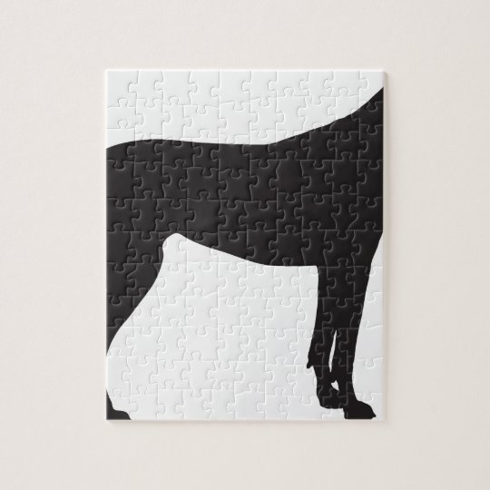 Great Dane Silhouette Jigsaw Puzzle