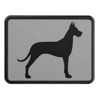 Great Dane Silhouette Tow Hitch Cover