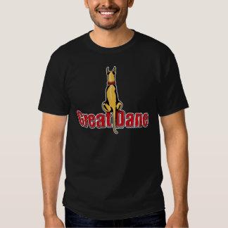 Great Dane Sit Fawn T Shirt