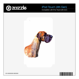 Great Dane Skin For iPod Touch 4G