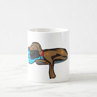 Great Dane Sleeping on Sofa Coffee Mug