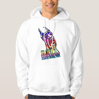 Great Dane Slop Happens Bright Hooded Pullover