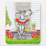 Great Dane SPIT Harlequin Mouse Pad