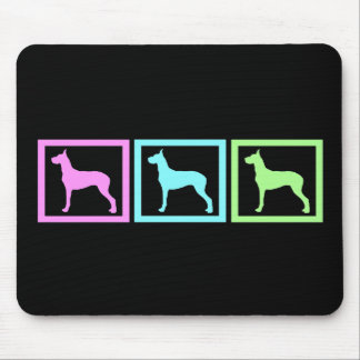 Great Dane Squares Mouse Pad