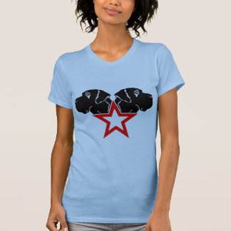 Great dane star Head T-Shirt
