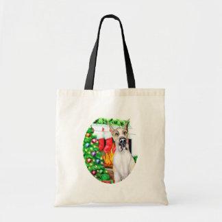 Great Dane Stockings Fawnequin Tote Bag